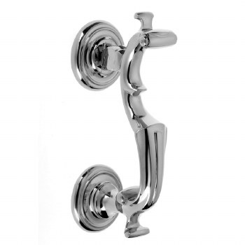 Croft London Doctor Door Knocker 4140 Polished Chrome