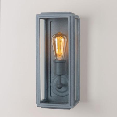 London Wall Lamp Slim Zinc