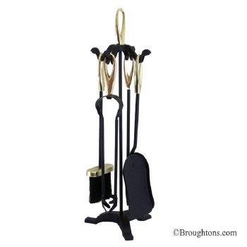 Loop Companion Set Black & Brass