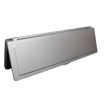 Magnetic Internal Letter Flap MK2 Silver