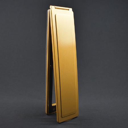 Magnetic Vertical Internal Letter Flap - Brass Effect