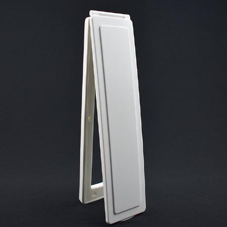 Magnetic Vertical Internal Letter Flap - White