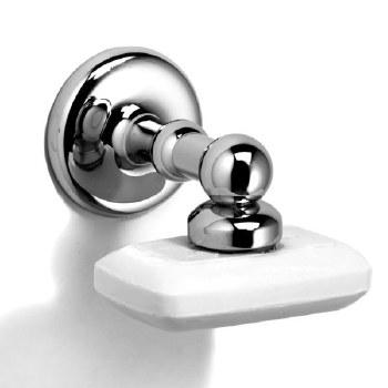 Samuel Heath N1024 Magnetic Soap Holder Polished Chrome