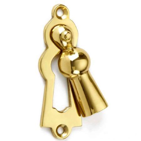 Croft Marlsborough Escutcheon 4560 Polished Brass Unlacquered