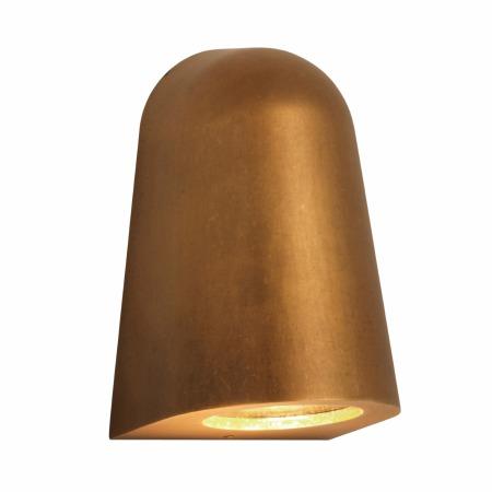 Mast Wall Light Antique Brass