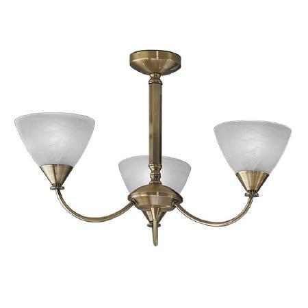 Mercian Ceiling Light 3 Lights Brushed Bronze