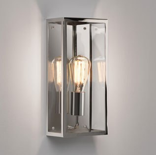 Messina Outdoor Wall Light 7879 Polished Nickel