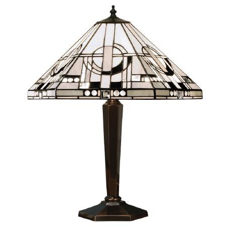 Interiors 1900 Metropolitan Tiffany Table Lamp Brass