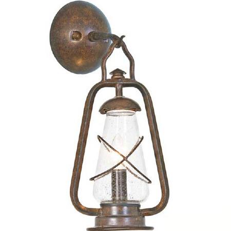 Elstead Miners Outdoor Wall Light Lantern