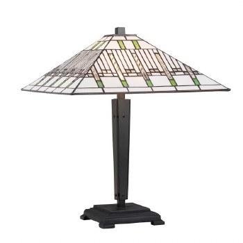Interiors 1900 Mission Tiffany Table Lamp