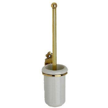Monza Toilet Brush Polished Brass