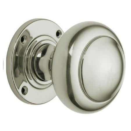 "Croft 6344 3"" Round Door Polished Nickel"