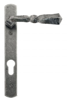 From The Anvil Narrow Espag Door Handles Pewter