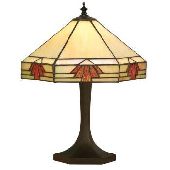 Interiors 1900 Nevada Tiffany Small Table Lamp