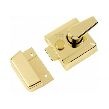 Heritage Nightlatch NL3040-PB Polished Brass