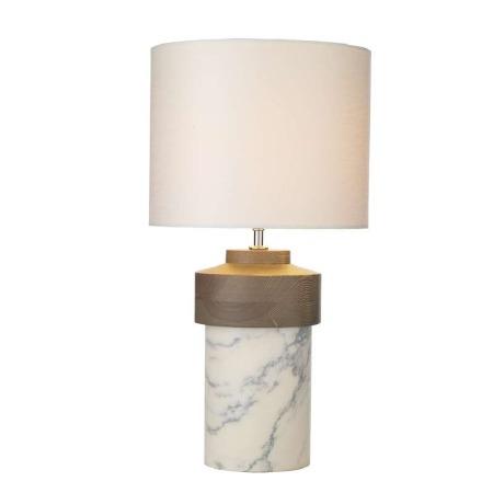 David Hunt NOM4302 Nomad Marble Table Lamp Base