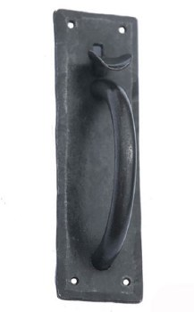 Hand Forged Traditional Norfolk Thumb Latch Set Beeswax
