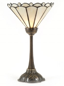 Art Nouveau Uplight Table Lamp