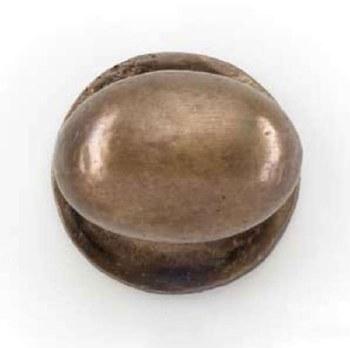 Oval Cupboard Door Knob Oil Rubbed Bronze