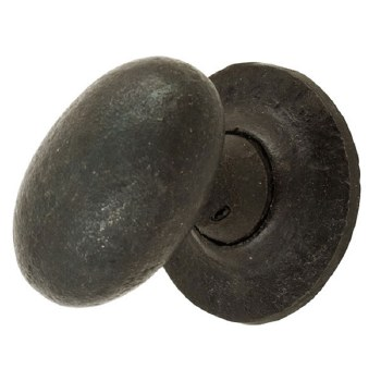 From The Anvil Oval Mortice or Rim Door Knobs Beeswax