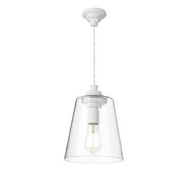 David Hunt OYS0102 Oyster Pendant inc Glass Shade