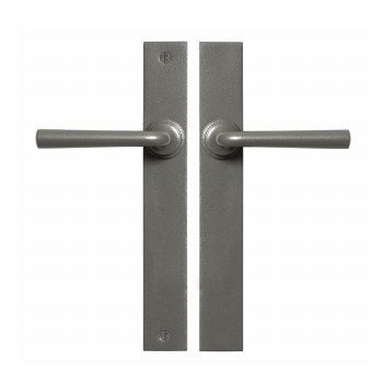 Stonebridge Padstow Multipoint Passage Door Handles Armor Coat Satin Steel
