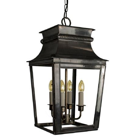 Parisienne Lantern Large Antique Brass