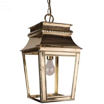 Parisienne Lantern Small Polished Brass Unlacquered