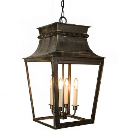 Parisienne Lantern Extra Large Antique Brass