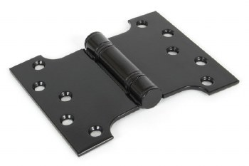 """From The Anvil Parliament Hinges Black 4"""" x 3"""" x 5"""""""