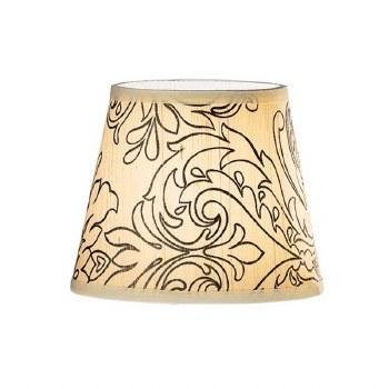 Candle Clip Lampshades Cream Silk