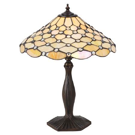 Interiors 1900 Pearl Tiffany Table Lamp