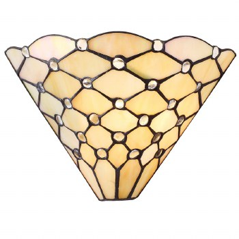 Interiors 1900 Pearl Tiffany Wall Light
