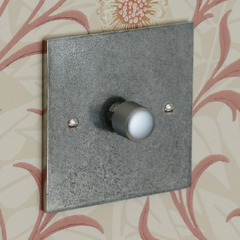 Pewter Dimmer Switch 1 Gang