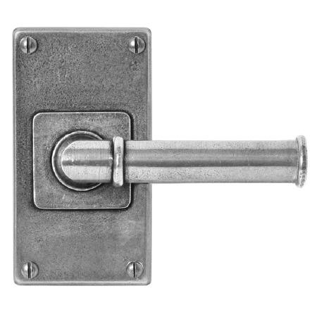 Finesse Wexford Door Handles Jesmond Short Plate FD185 Solid Pewter