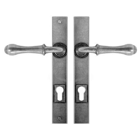 Finesse Derwent Multipoint Entry Door Handles FDMP04 Solid Pewter
