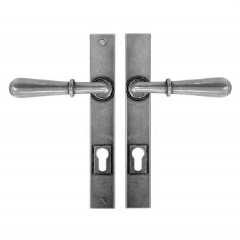 Finesse Fenwick Multipoint Entry Door Handles FDMP05 Solid Pewter