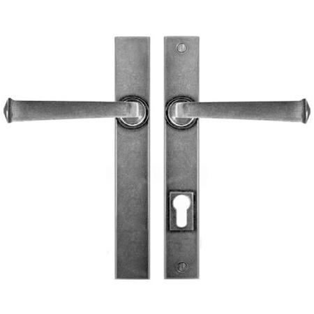 Finesse Allendale Multipoint Patio Door Handles FDMP07 Solid Pewter