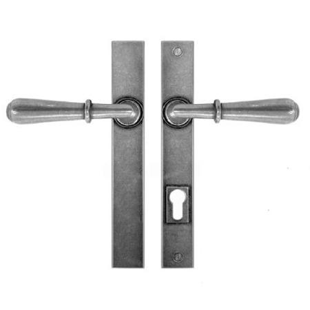 Finesse Fenwick Multipoint Patio Door Handles FDMP10 Solid Pewter