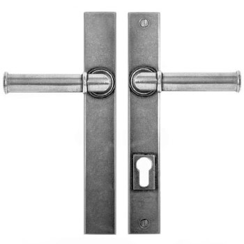 Finesse Wexford Multipoint Patio Door Handles FDMP20 Solid Pewter