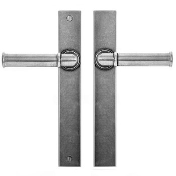 Finesse Wexford Multipoint Passage Door Handles FDMP21 Solid Pewter