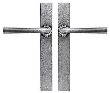 Finesse Tunstall Multipoint Passage Door Handles  FDMP26 Solid Pewter