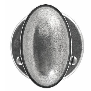 Finesse Lincoln Door Knobs Round Rose FD189 Solid Pewter