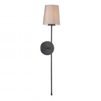 David Hunt PIG0798 Pigalle Single Wall Light with Shade