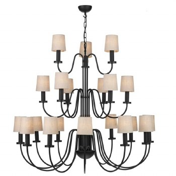 David Hunt PIG2122 Pigalle 21 Light Chandelier