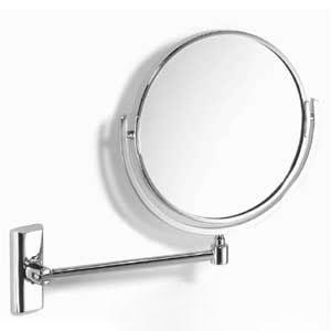Samuel Heath L118 Double Arm Pivotal Mirror Polished Chrome