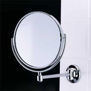 Samuel Heath L119 Simple Pivotal Mirror Polished Chrome