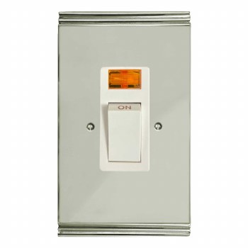 Plaza Vertical Cooker Switch Polished Nickel