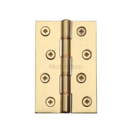 Heritage Hinge PR88-405 Polished Brass