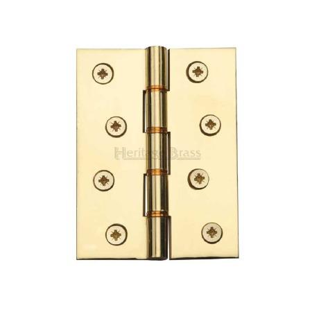 Heritage Hinge PR88-410 Polished Brass